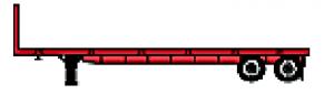 Flatbed Standard Tandem Axle